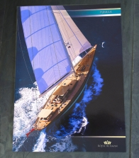 PUMULA brochure for Royal Huisman. Owen Superyacht marketing has produced a brochure for every Huisman yacht since 1980.