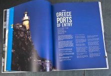 The A1 Yacht Trade Consortium based in Greece engaged Owens to design and produce a luxury 120 page case-bound book called HELLAS BOUND. This book is placed on superyachts visiting Greece and distributed to the top luxury hotels.