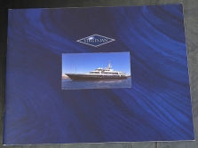 VIRGINIAN charter brochure for Sir Anthony Bamford.This high quality brochure was photographed by Roy Roberts and Owen