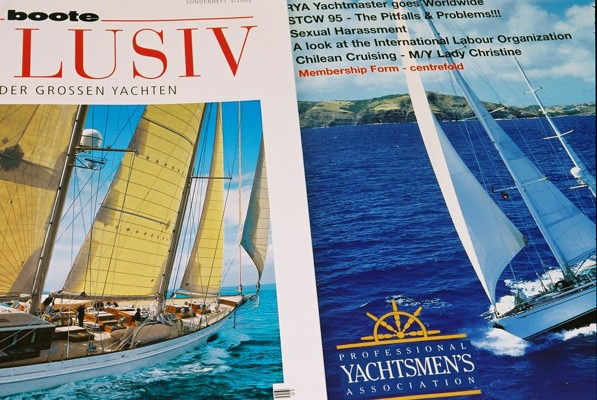 Luxury press  As well as many front covers for the yachting press, our images appear on property and luxury titles.
