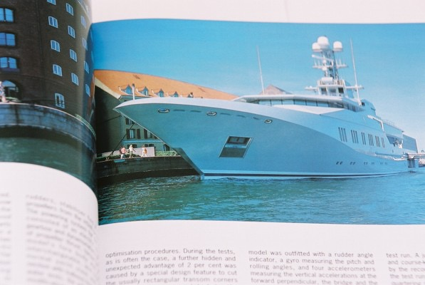 SKAT  This photoshoot by Roy Roberts for Superyacht Report included all engineering spaces and technical details.